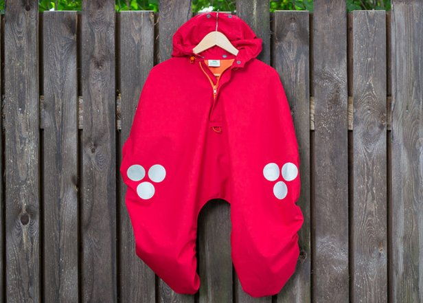 WichtelWarm cape red