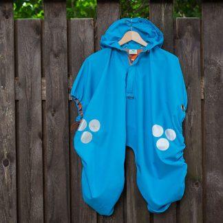 WichtelWarm cape blue