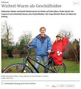 Anne and her WichtelWarm